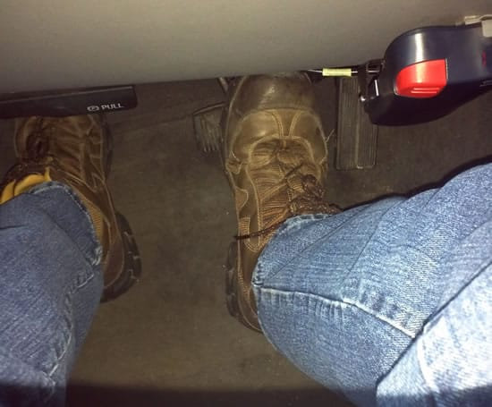 Defensive Driving - Foot Placement 1