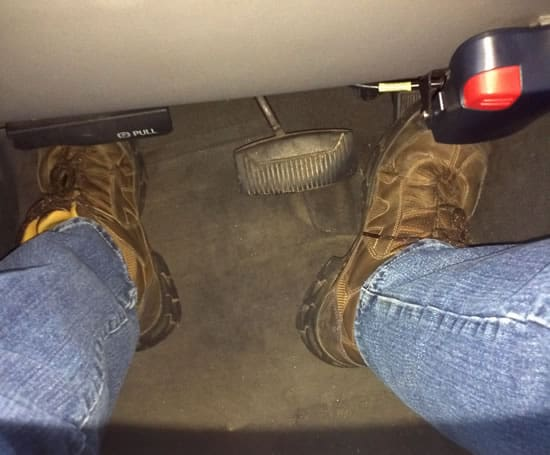Defensive Driving - Foot Placement 2