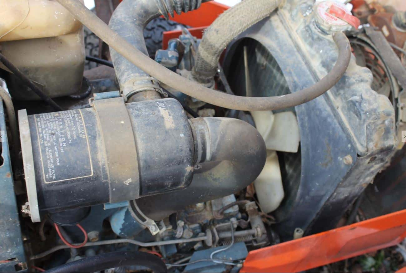 Kubota B20 Engine