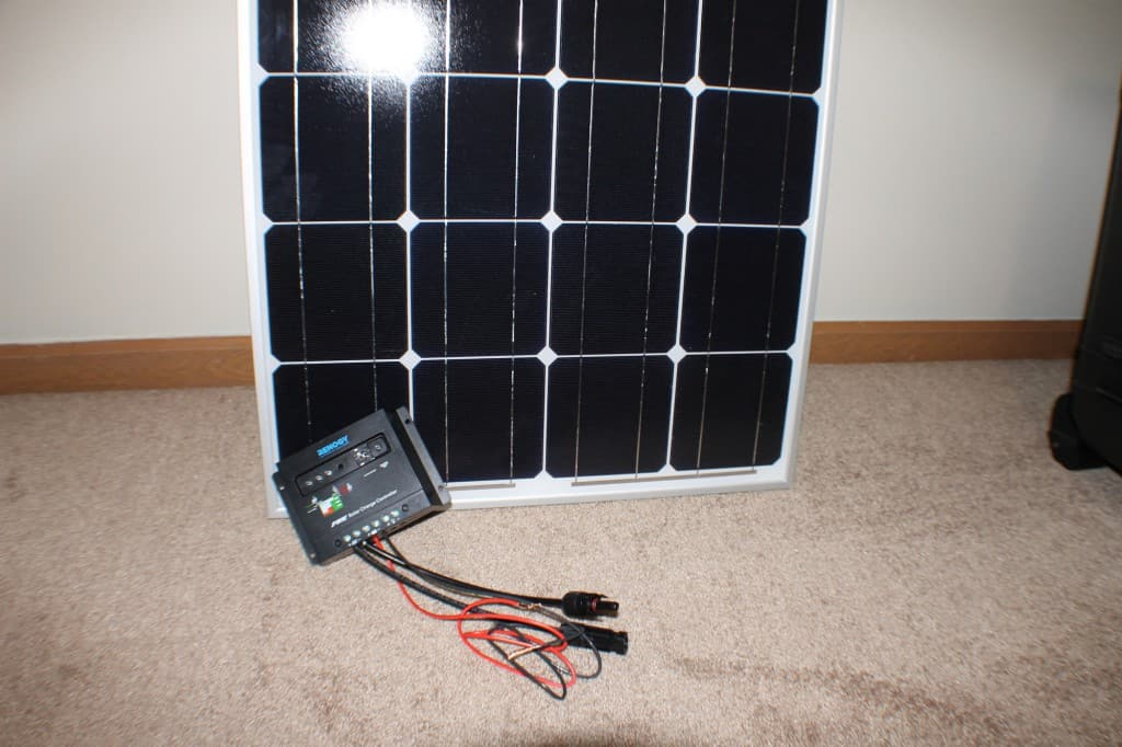 Solar Panel And Charger