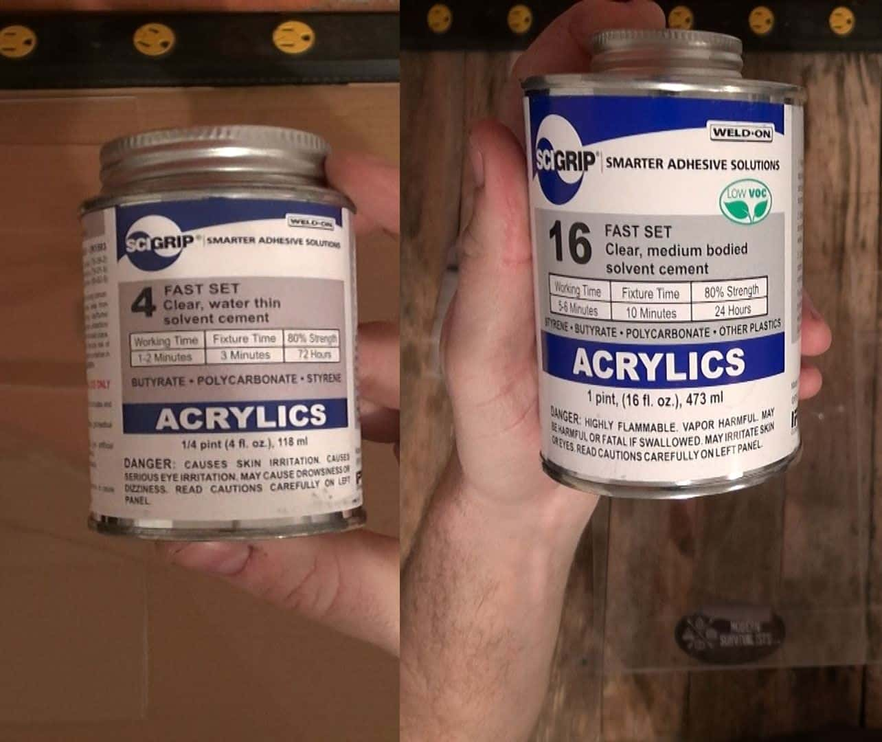 Acrylic-Solvent-Cement