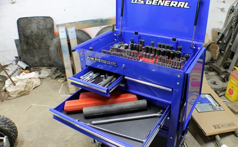 Reviewing the US General 5 Drawer Tool Cart