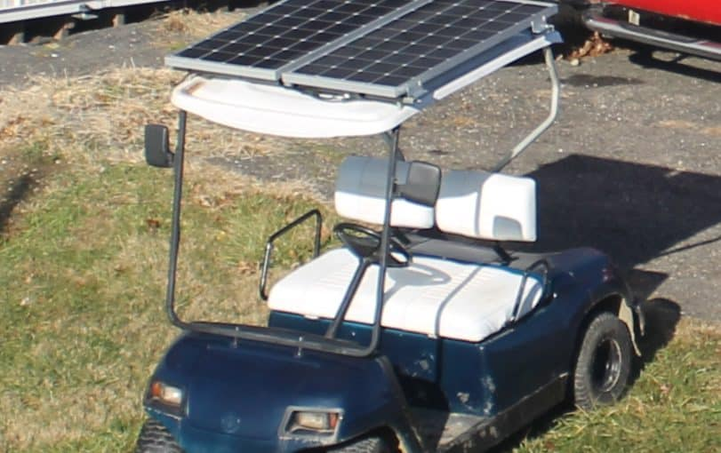 How to Convert an Electric Golf Cart to Solar Power – Part 1